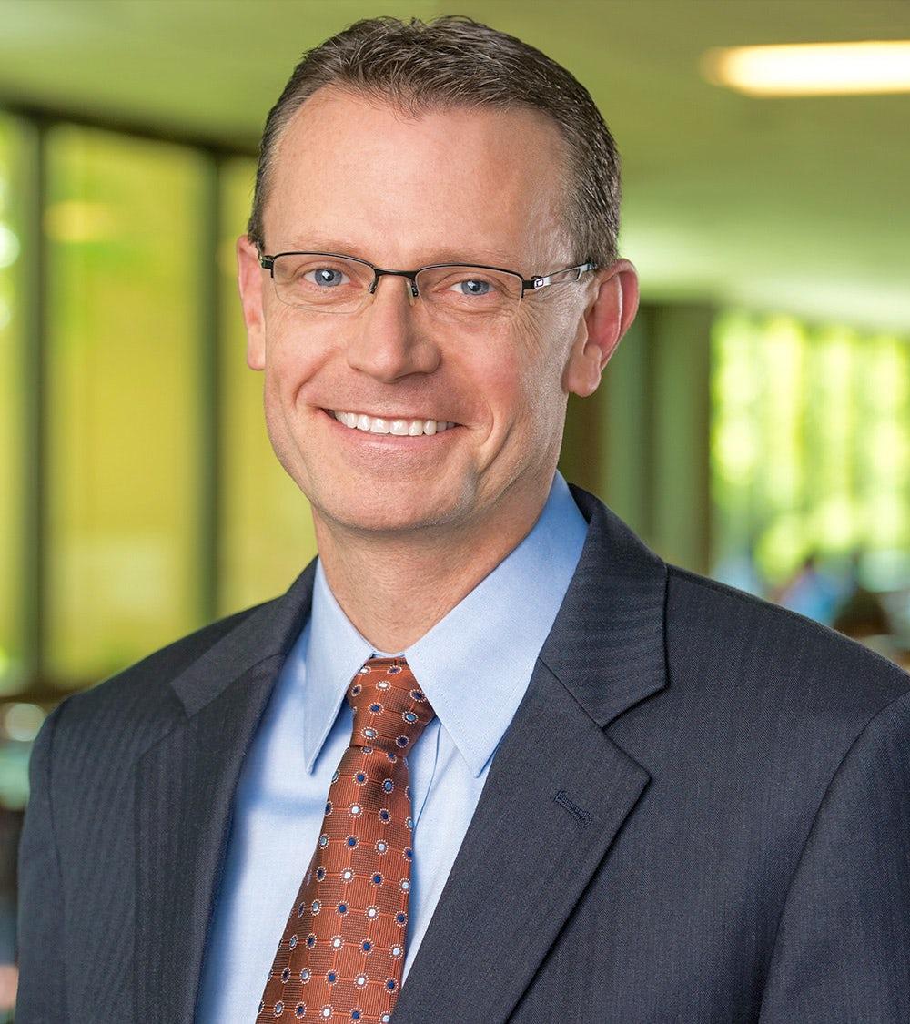 A picture of Heifer Board Member Chuck Warta.