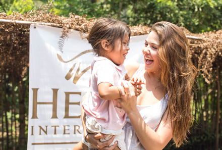 Actress Danielle Campbell recently visited Heifer projects in Guatemala.