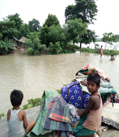 3,800 farming families that Heifer works with in 13 districts of Bihar, India, are suffering from severe flooding.