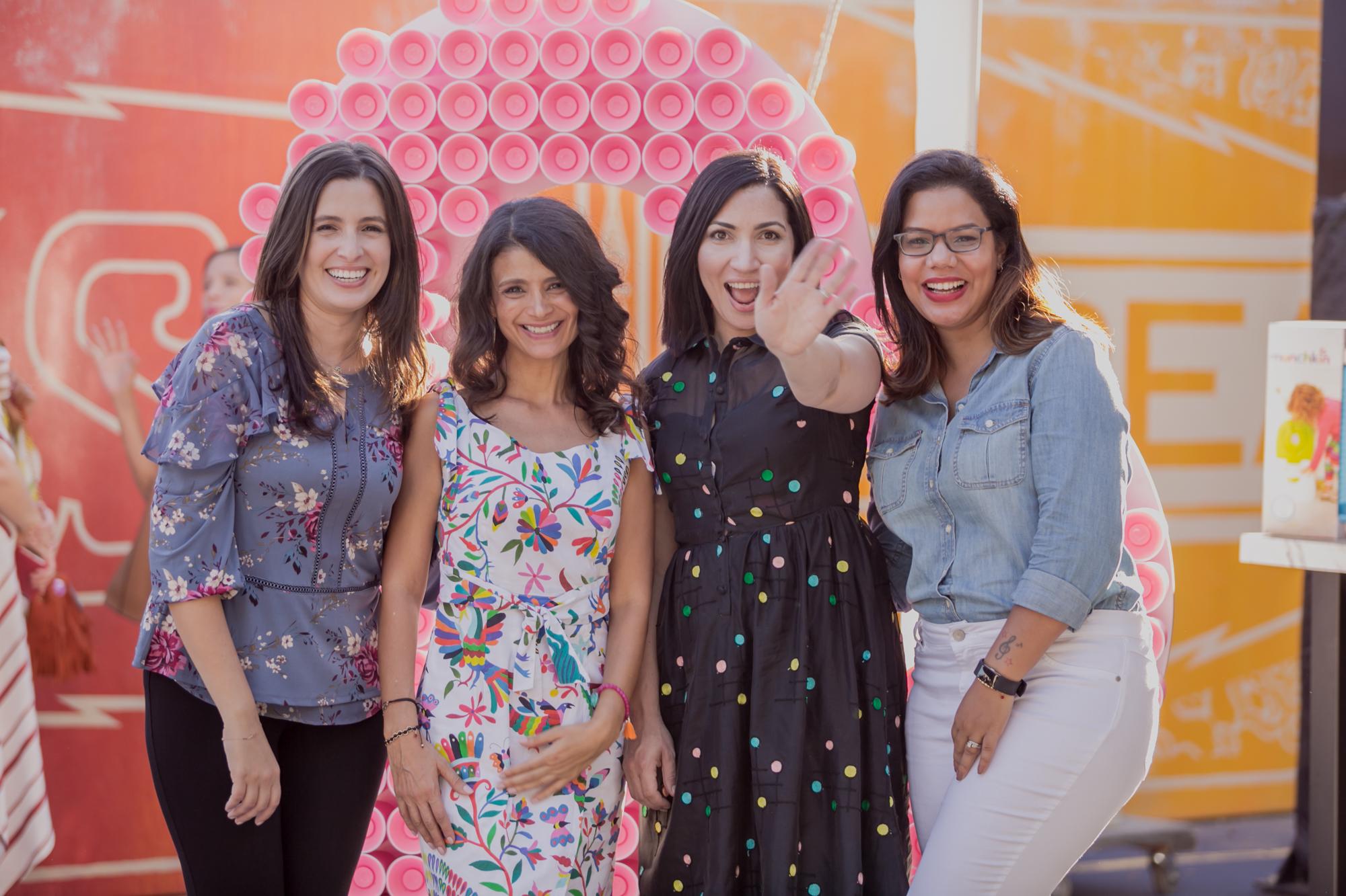 Ana Flores and team.