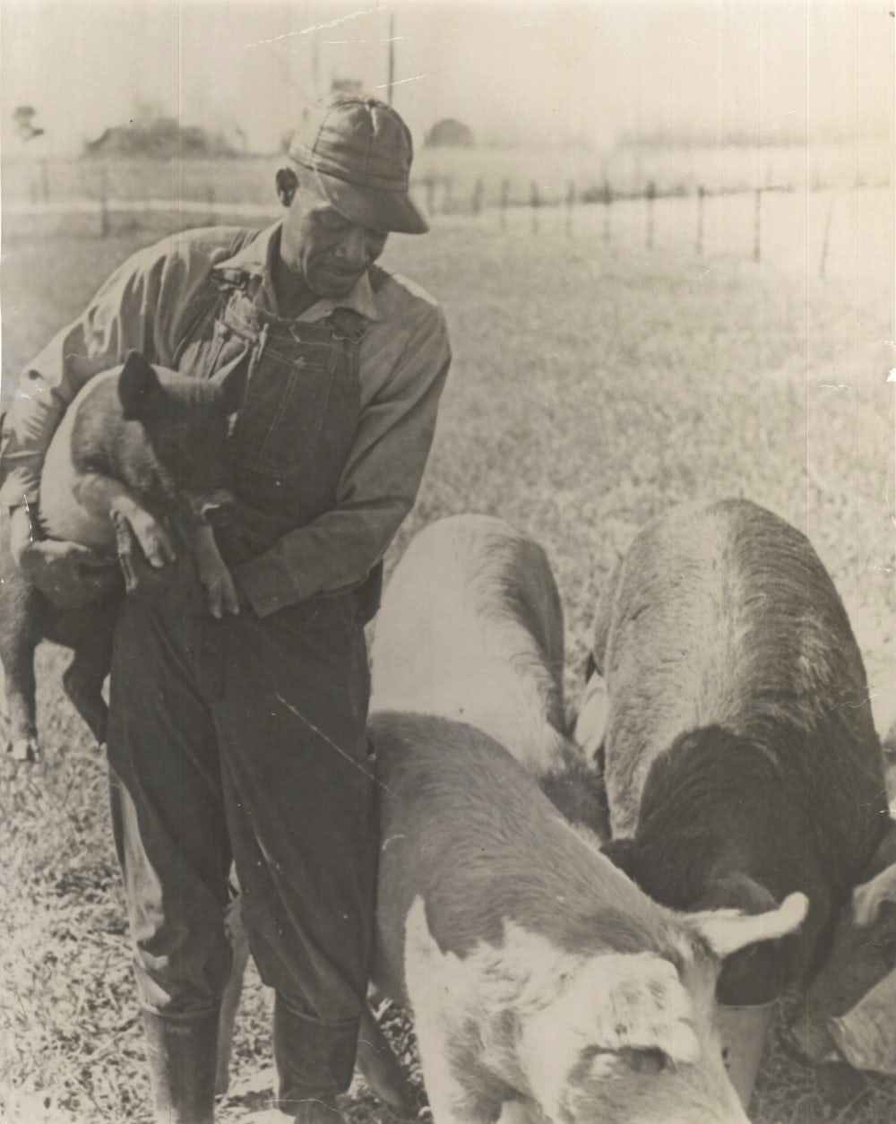 A farmer who participated in the Heifer International and Prentiss Institute 30-year partnership in Mississippi