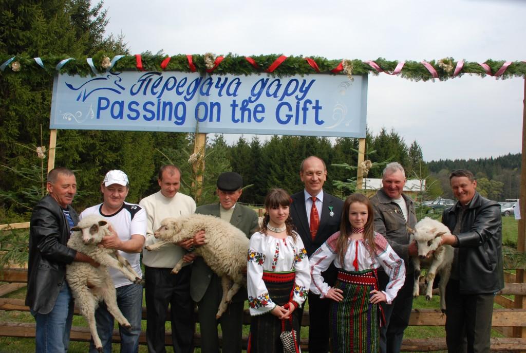 Pass on the Gift in Ukraine