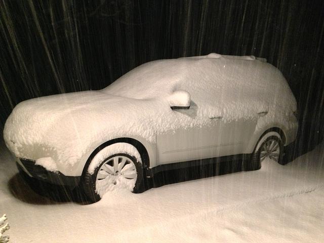 Arkansas snow storm