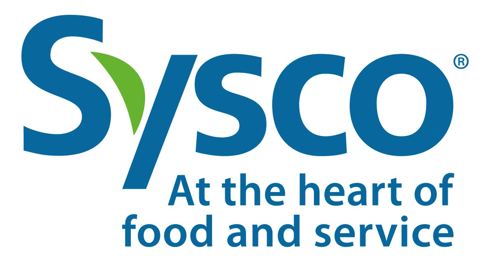 Sysco logo - at the heart of food and service.