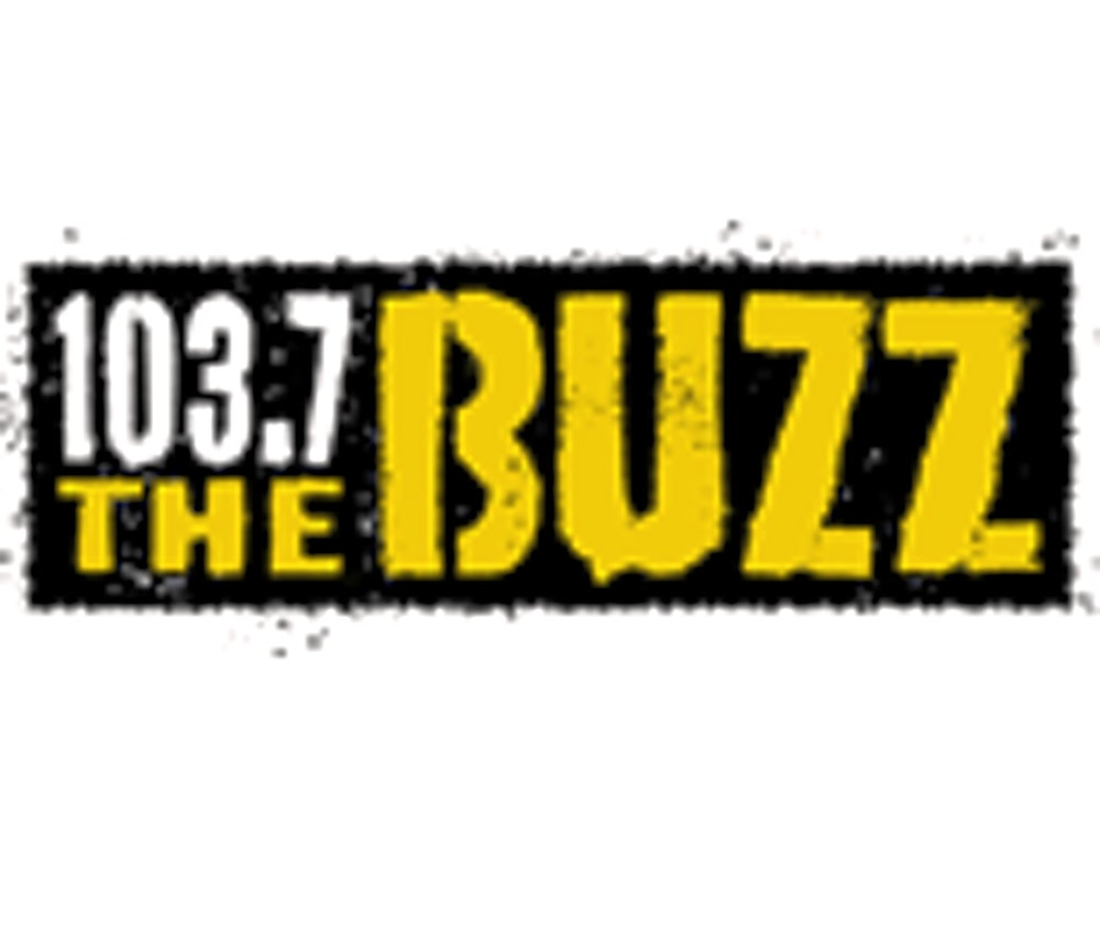 1037 the buzz logo.