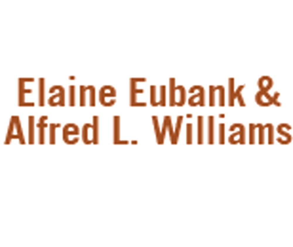 Elaine Eubank and Alfred L. Williams
