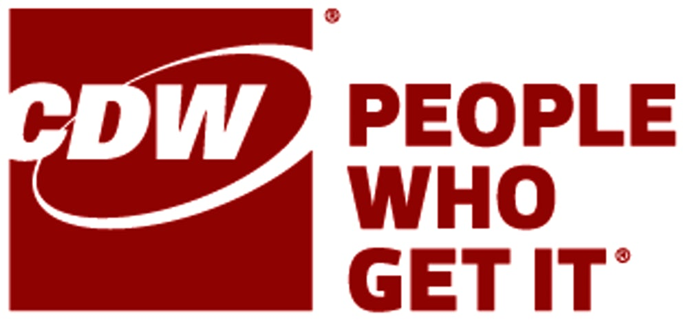 CDW logo - People who get it.