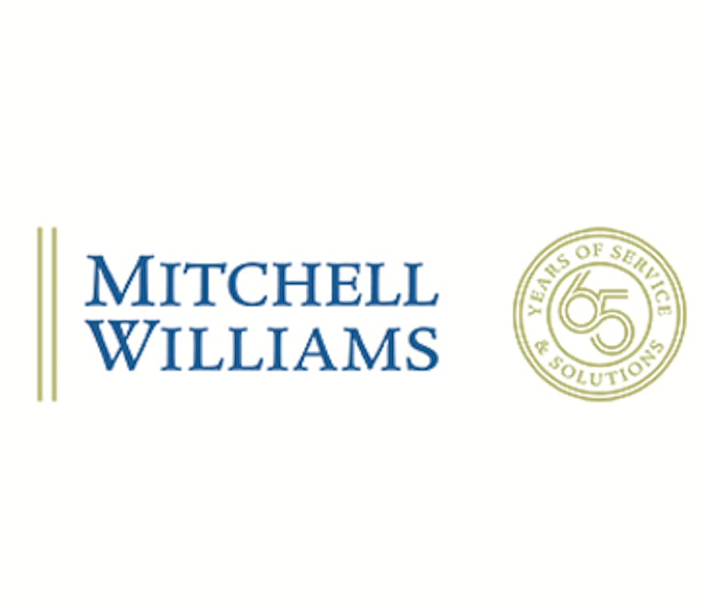 Mitchell Williams Logo - 65 years of service.