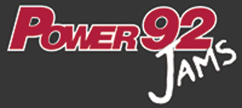 Power 92 Jams Logo.