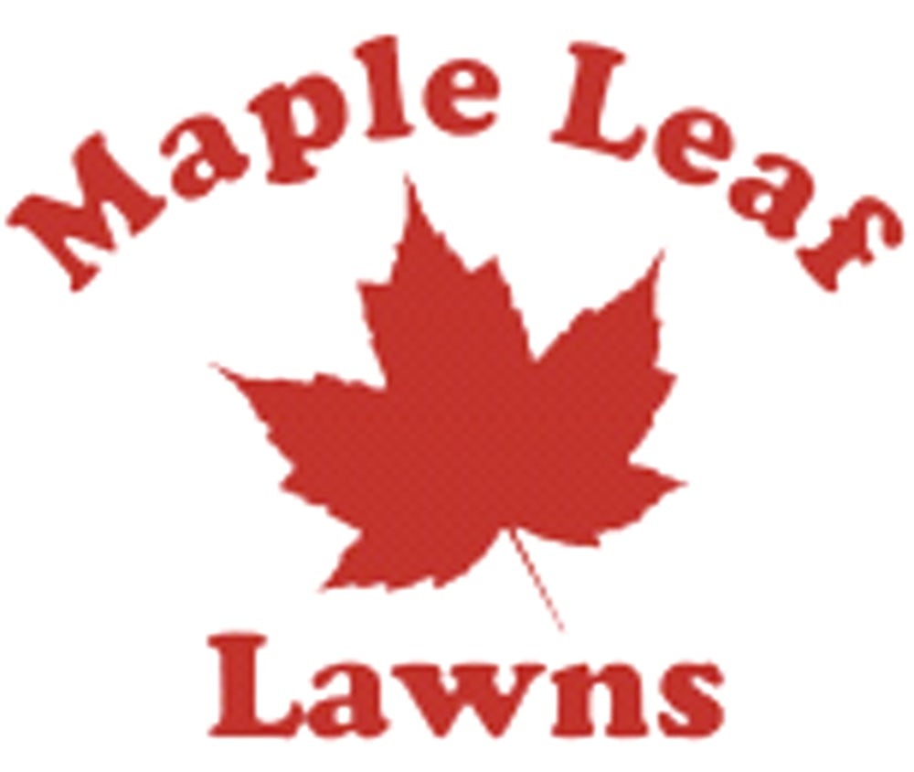 Maple Leaf Lawns Logo.