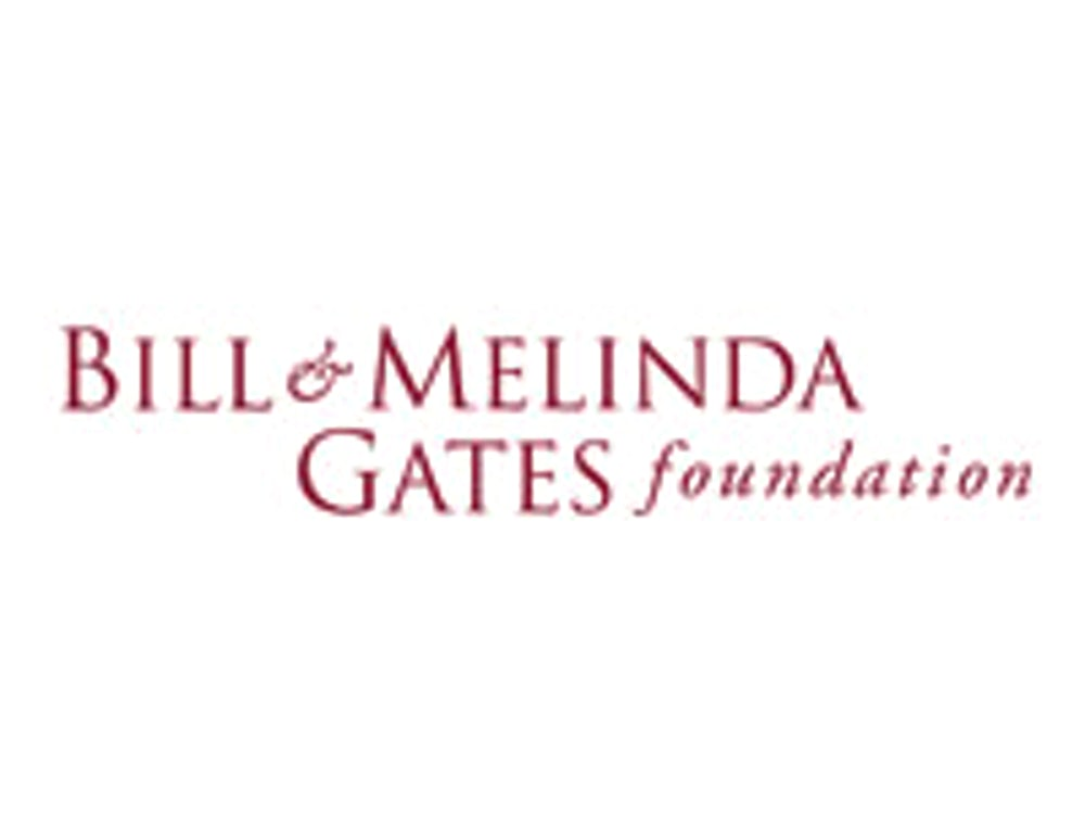 Bill and Melinda Gates Foundation logo.