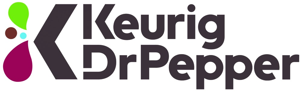 Keurig Dr. Pepper Logo.