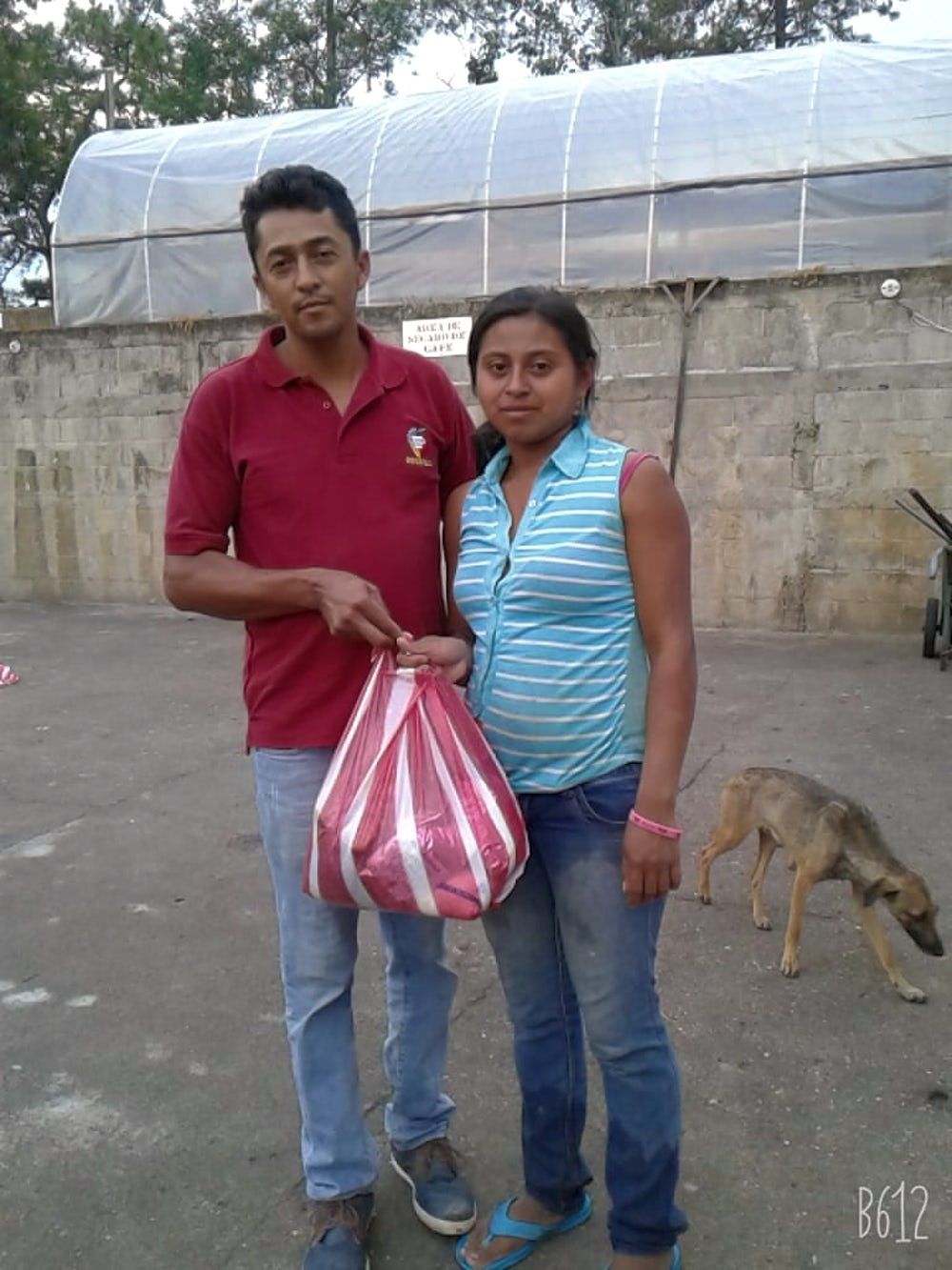 Heifer participants deliver goods to neighbors.