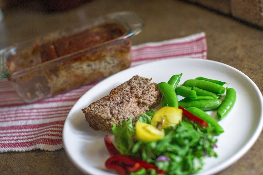 My mom's meatloaf is so good, it's therapeutic. It's the dinner-version of a warm hug!