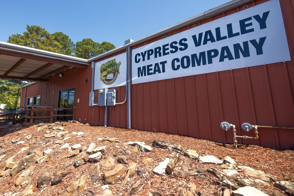 The Cypress Valley Meat Company processing facility in Clinton, Arkansas. Photos by Philip Davis/Heifer International