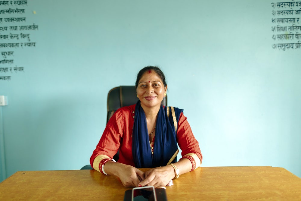 Tulsi Thapi once depended on her husband for income. Now, she's a founding member of the Bihani Dairy Cooperative.