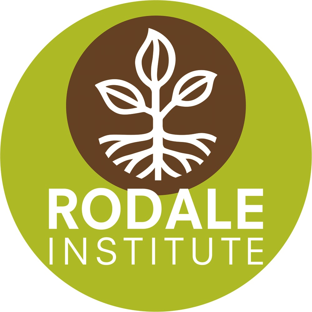 The Rodale Institute logo.