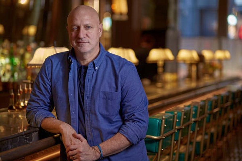 Food-policy advocate and chef Tom Colicchio. Image via Crafted Hospitality.