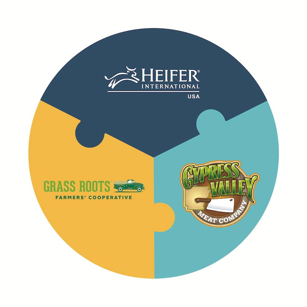 diagram of Heifer partners