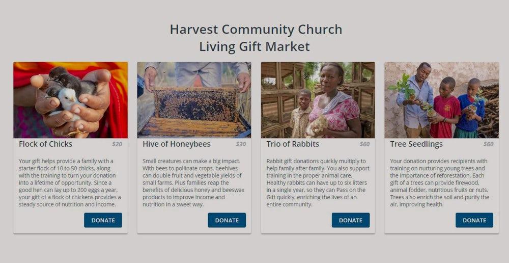 online living gift market